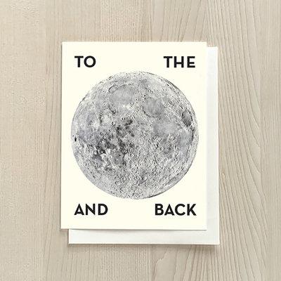 Vivid Print To The Moon