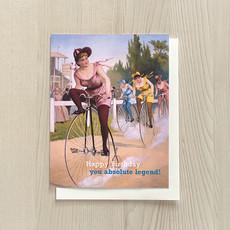Vivid Print Bike Legend