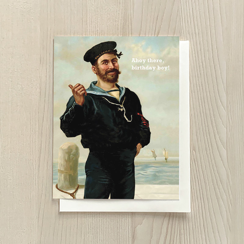 Vivid Print Ahoy There