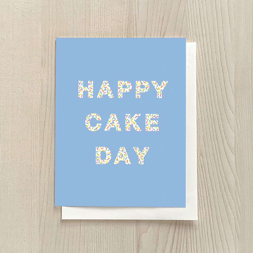 Vivid Print Cake Day