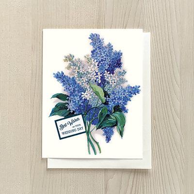 Vivid Print Best Wishes