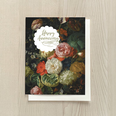 Vivid Print Anniversary Bouquet