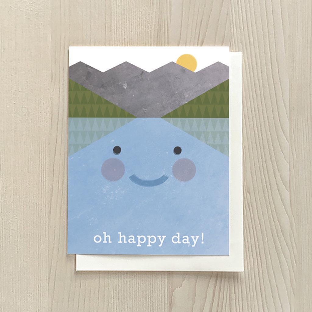 Vivid Print Oh Happy Day