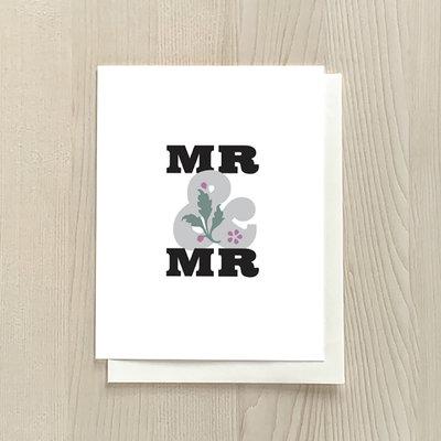 Vivid Print Mr & Mr