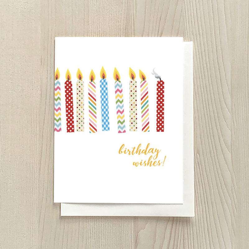 Vivid Print Birthday Wishes