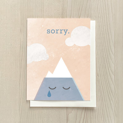 Vivid Print Mount Sorry