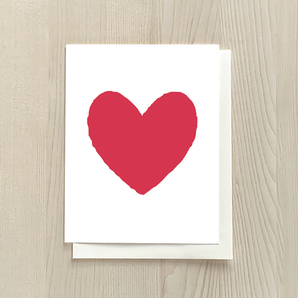 Vivid Print Heart