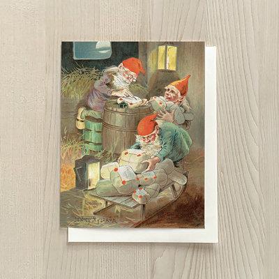 Vivid Print Packing Elves