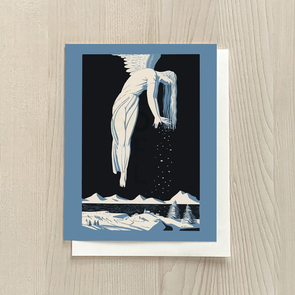 Vivid Print Snowfall