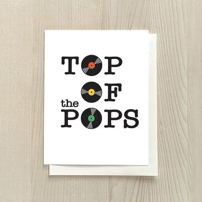 Vivid Print Top Of The Pops