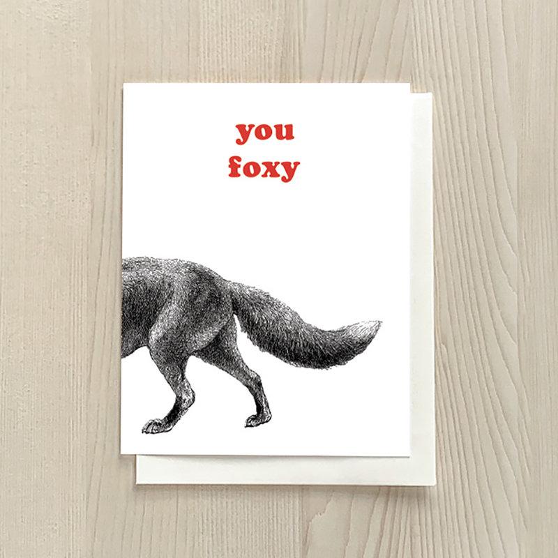 Vivid Print You Foxy