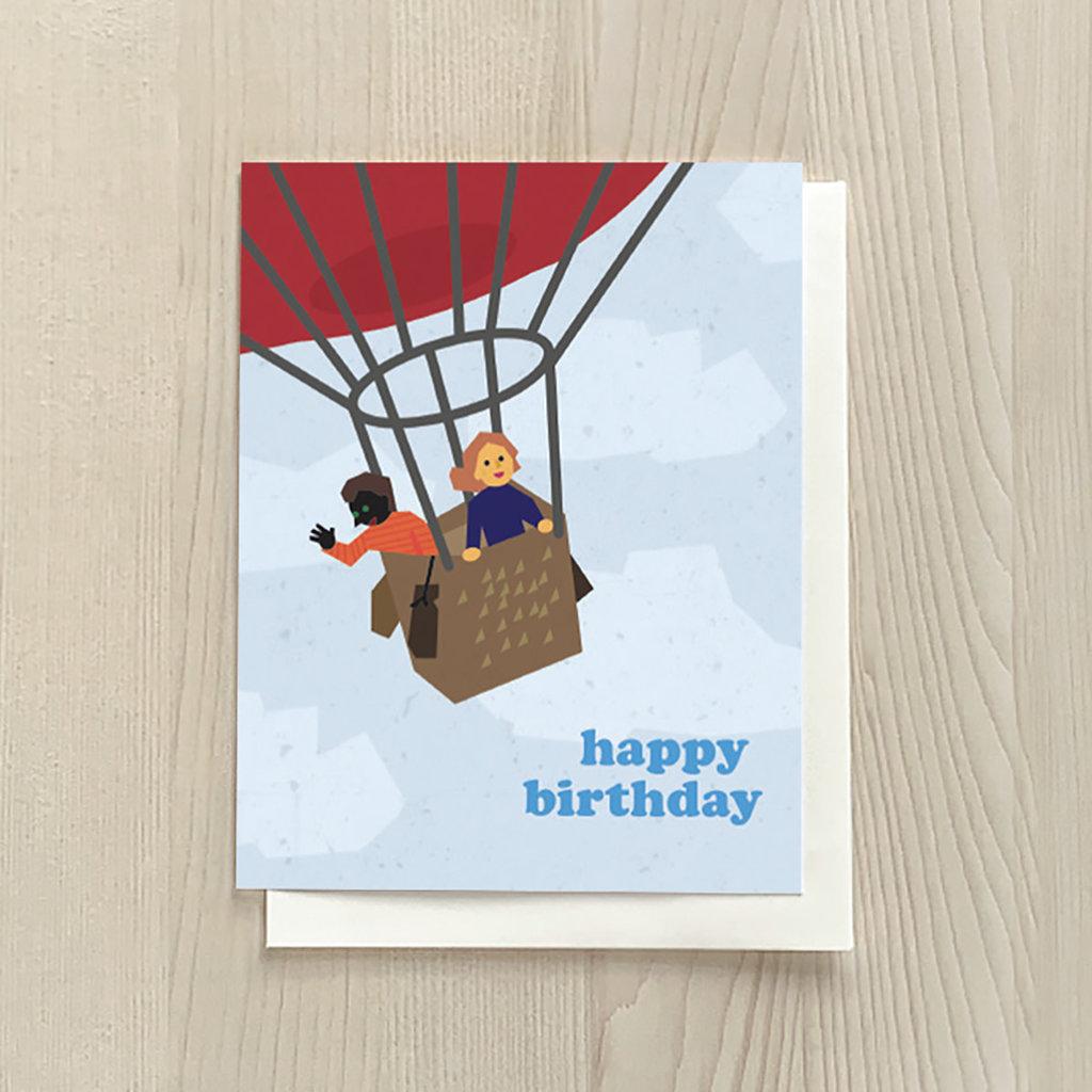 Vivid Print Birthday Balloon