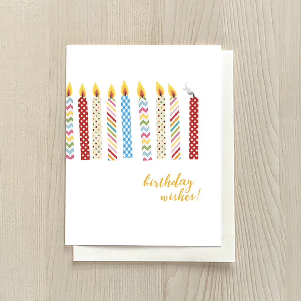 Vivid Print Birthday Wishes