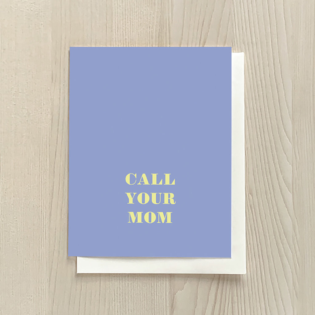 Vivid Print Call Your Mom