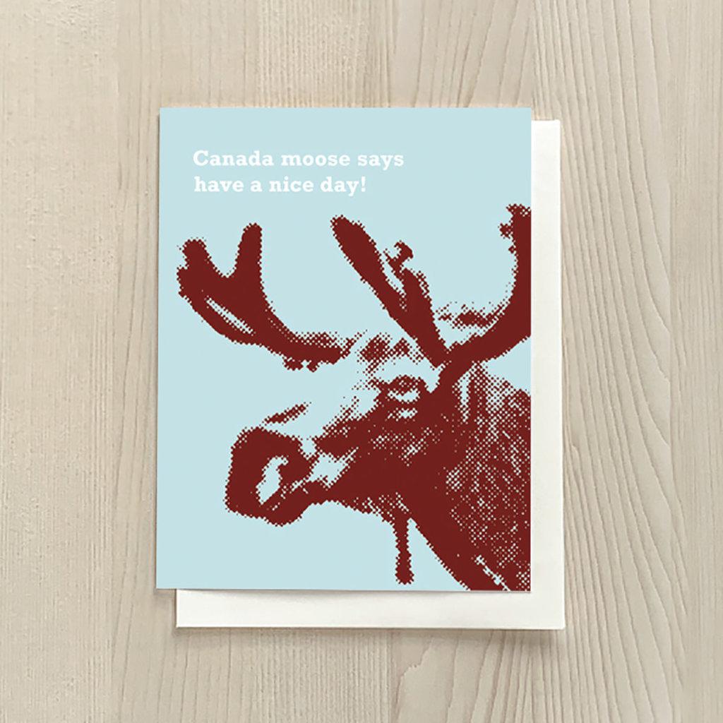 Vivid Print Canada Moose