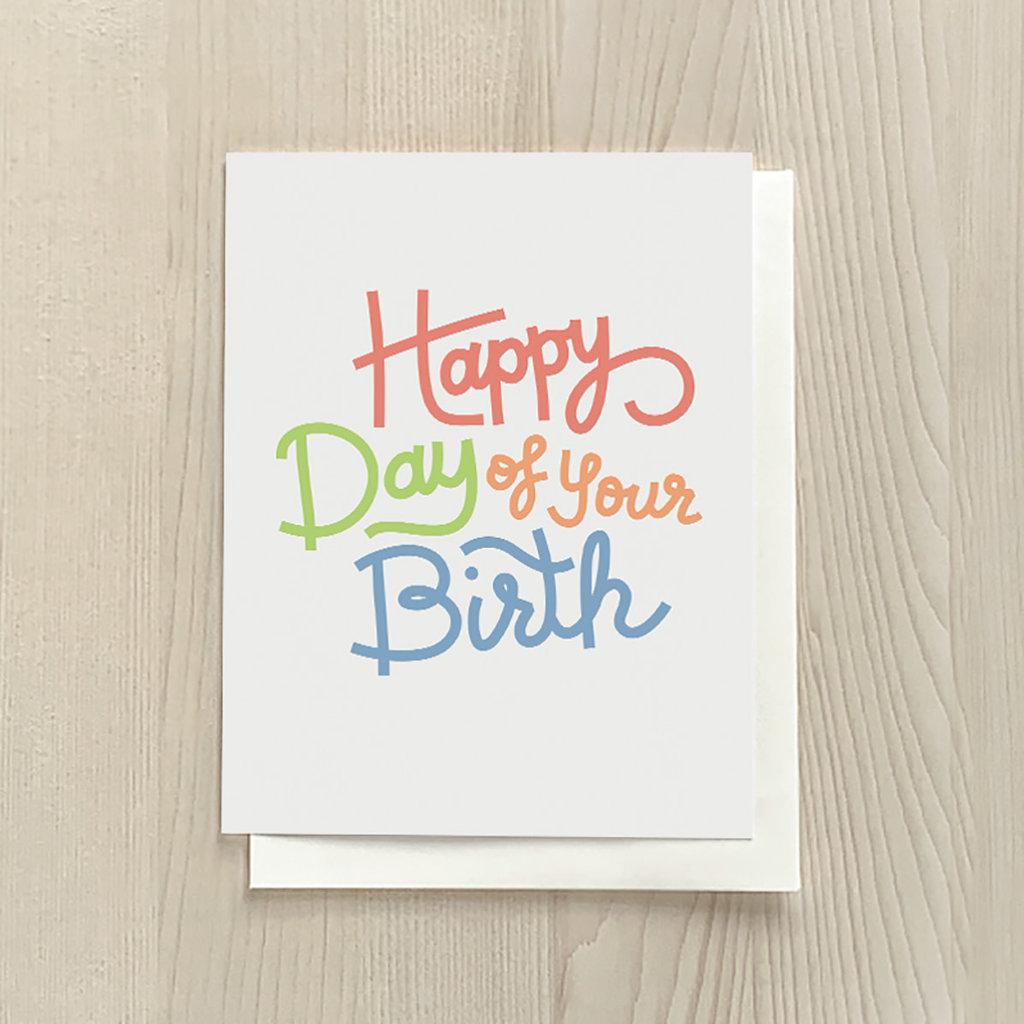 Vivid Print Day Of Your Birth