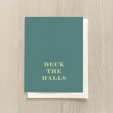 Vivid Print Deck The Halls