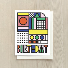 Vivid Print Deco  Birthday