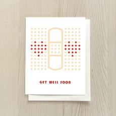 Vivid Print Get Well Soon Bandage