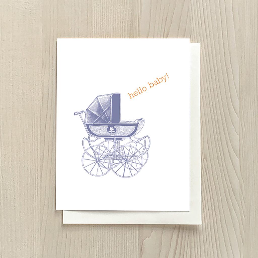 Vivid Print Hello Baby!