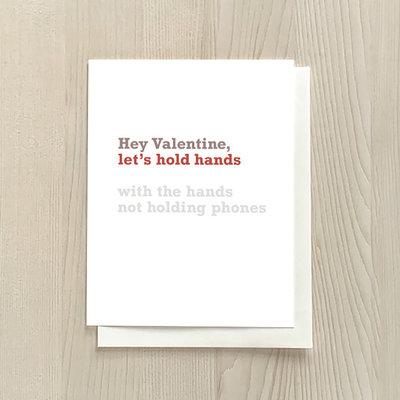 Vivid Print Hold Hands