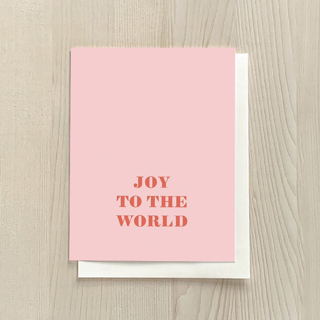 Vivid Print Joy To The World