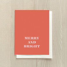 Vivid Print Merry and Bright
