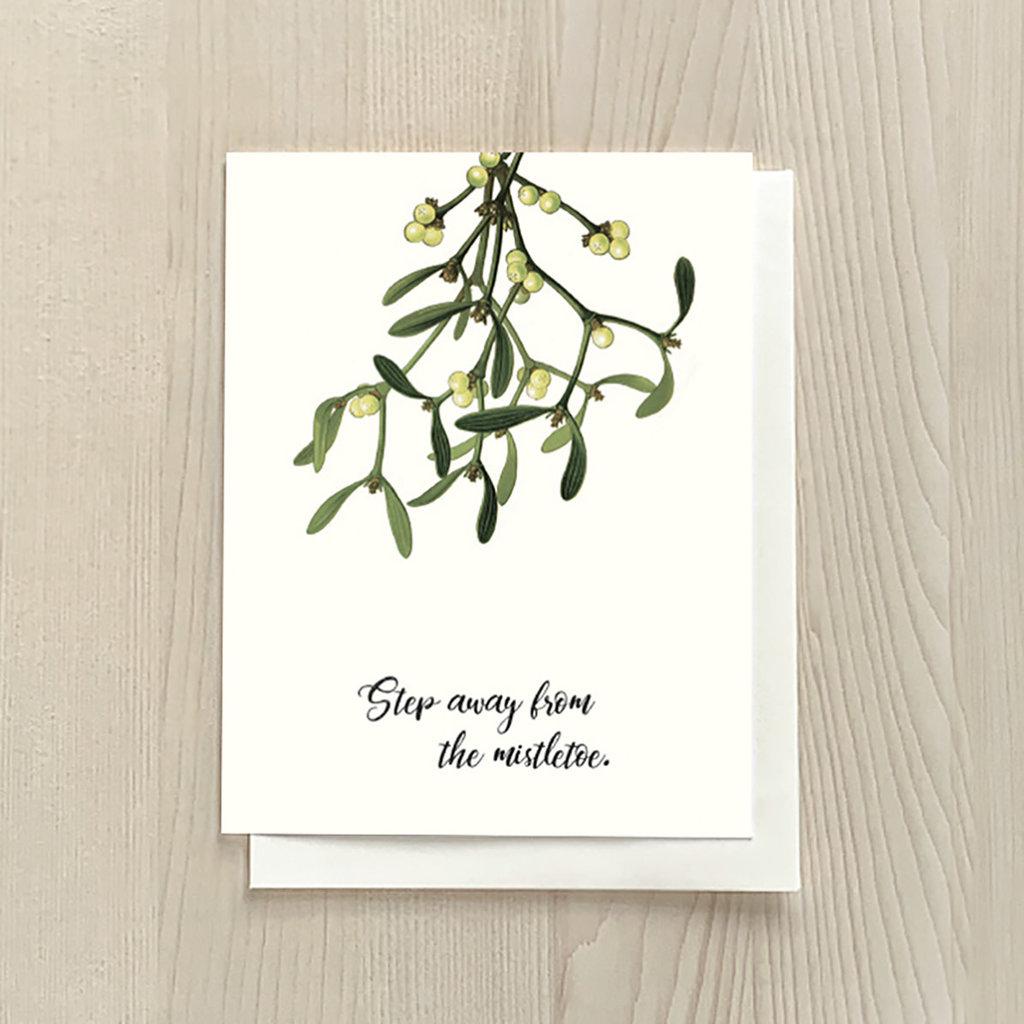 Vivid Print Mistletoe