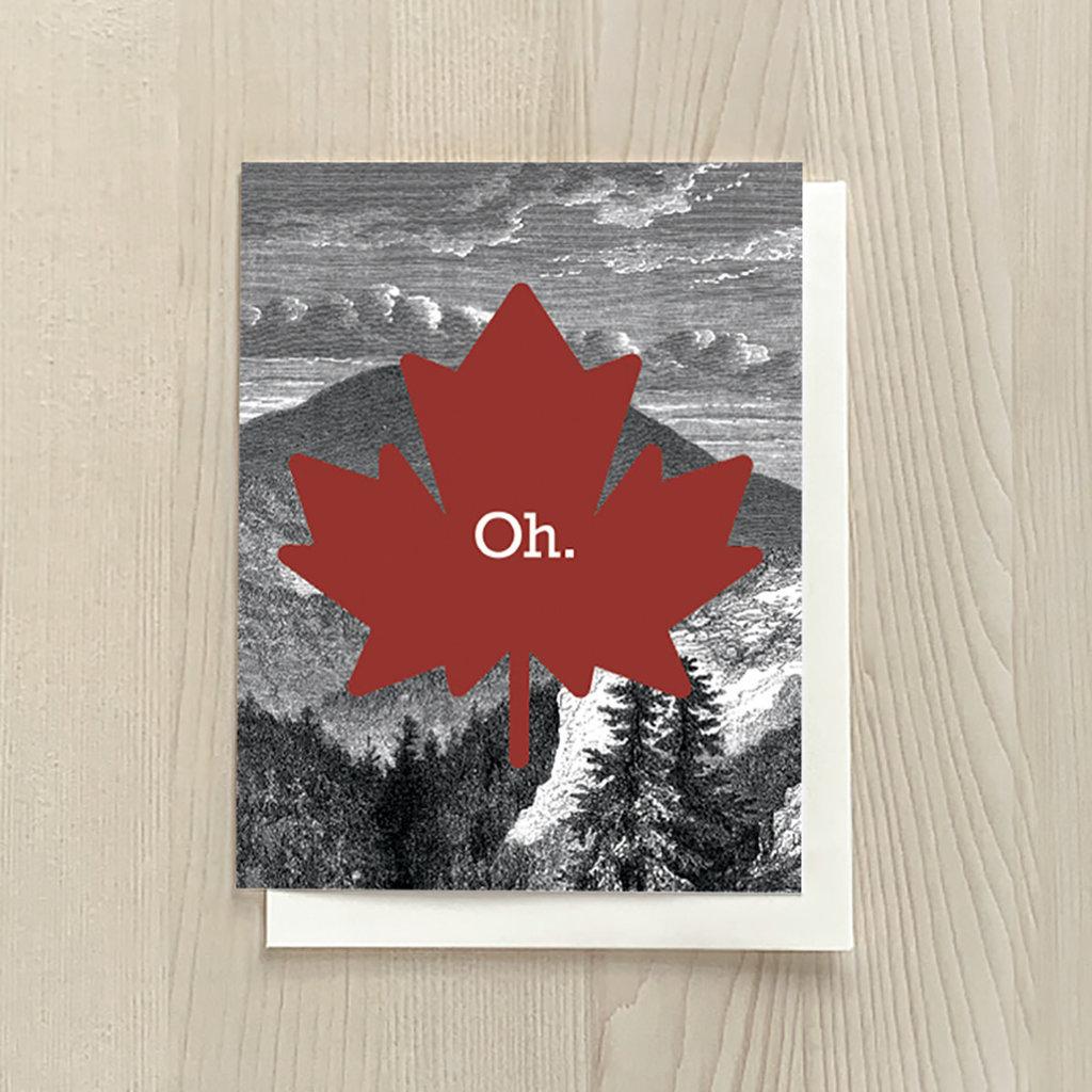 Vivid Print Oh Canada