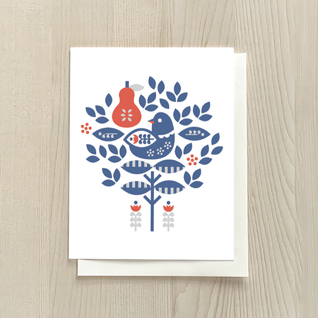 Vivid Print Partridge