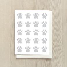 Vivid Print Paws