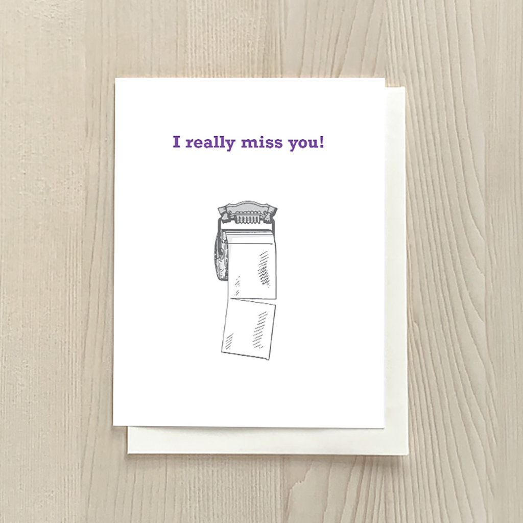 Vivid Print Really Miss You