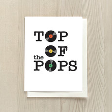 Vivid Print Top Of The Pops