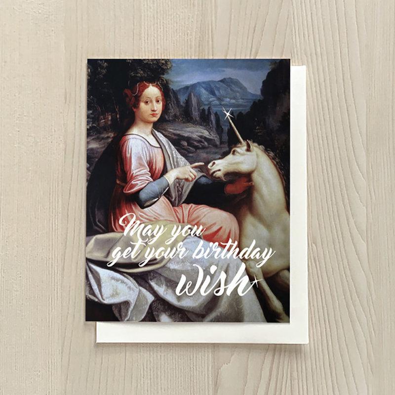 Vivid Print Unicorn Birthday