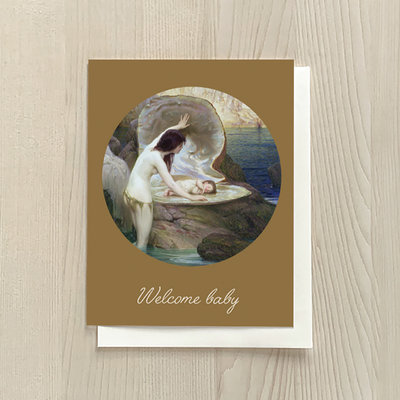 Vivid Print Welcome Baby