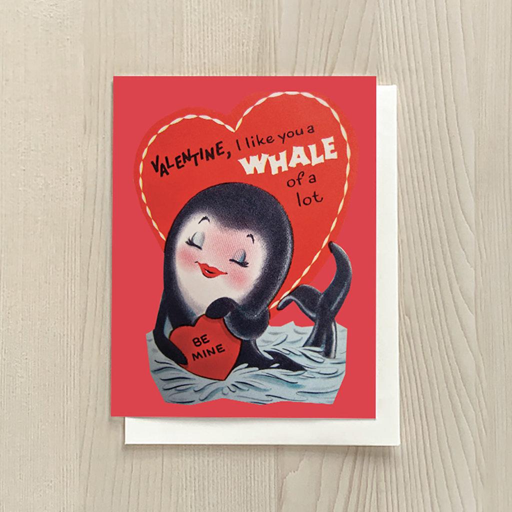 Vivid Print Whale Love
