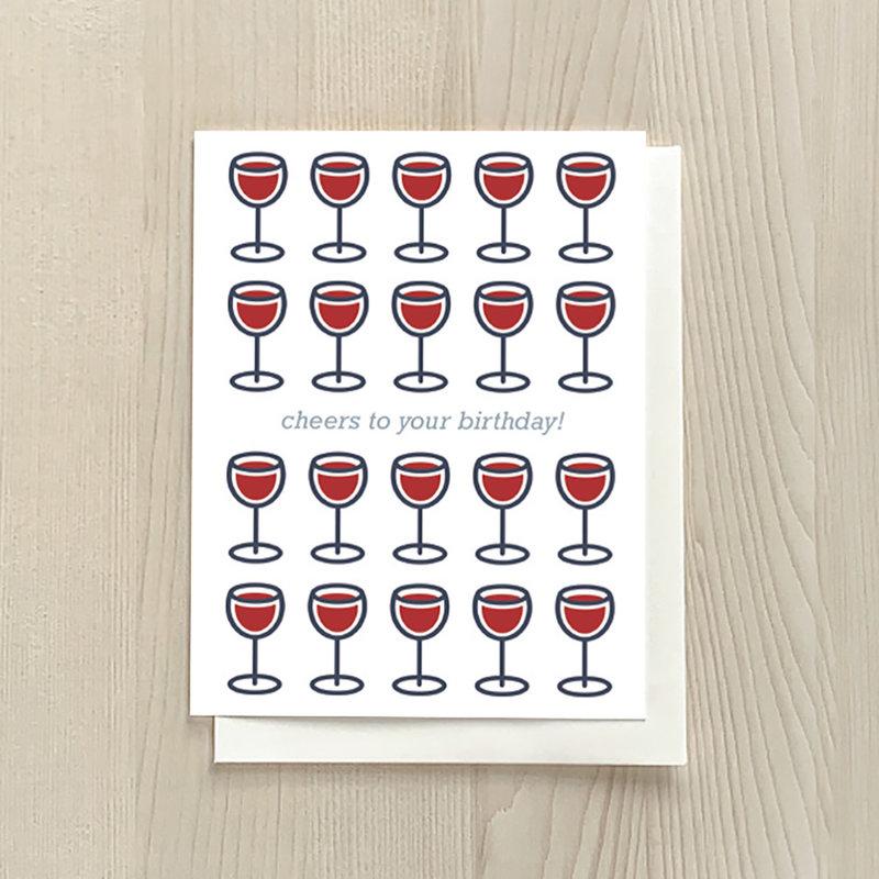 Vivid Print Wino