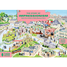Chronicle The Story of Impressionism (1000-Piece Art History Jigsaw Puzzle)