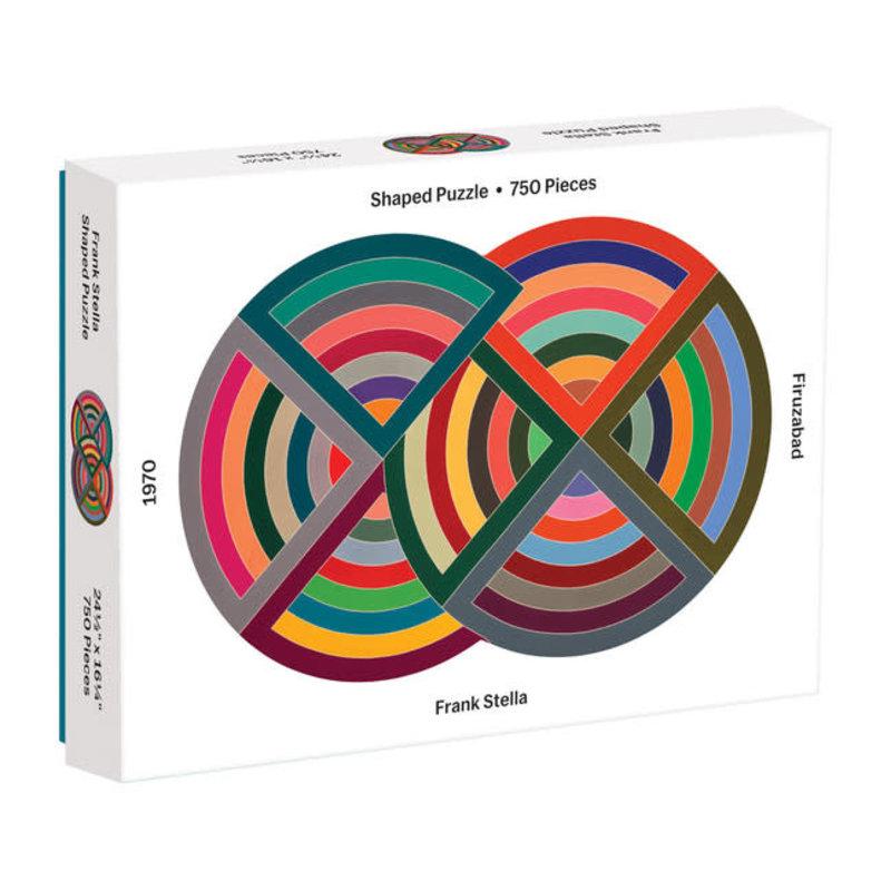 Galison Mudpuppy MoMA Frank Stella 750 Piece Shaped Puzzle