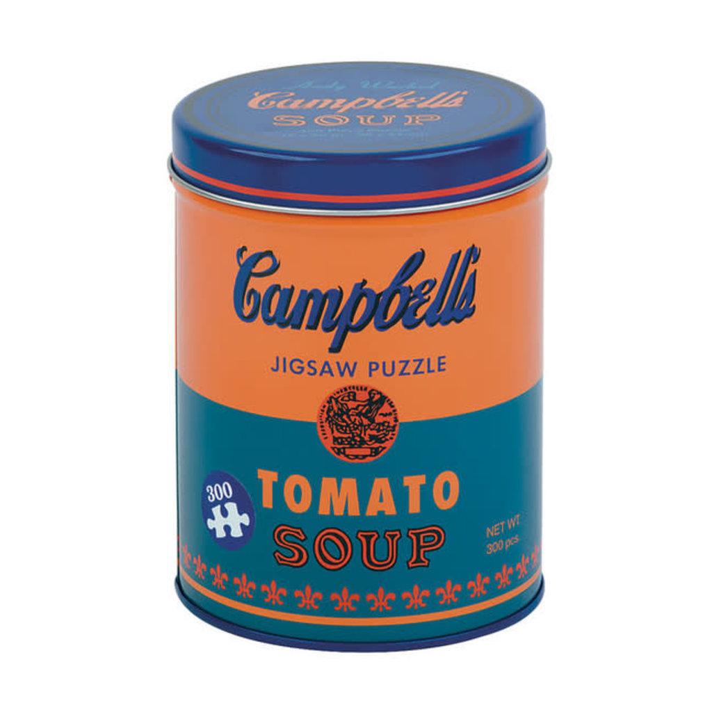 Galison Mudpuppy Andy Warhol Soup Can Orange 300 Piece Puzzle