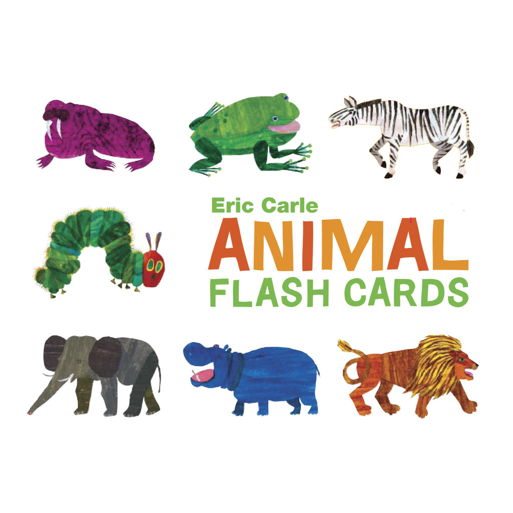Chronicle The World of Eric Carle Animal Flash Cards