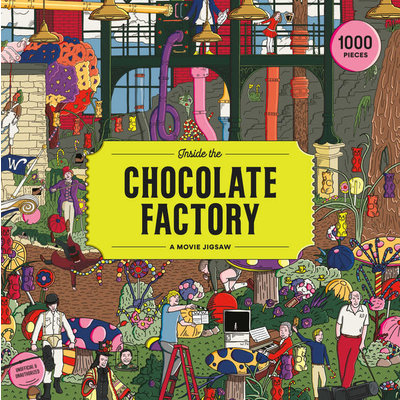 Laurence King Publishing Inside the Chocolate Factory