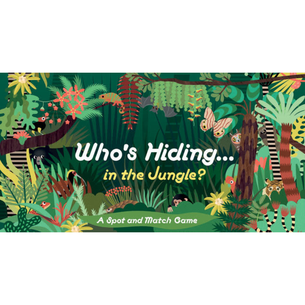 Laurence King Publishing Who's Hiding in the Jungle?