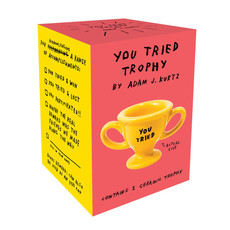 Chronicle Books You Tried Trophy