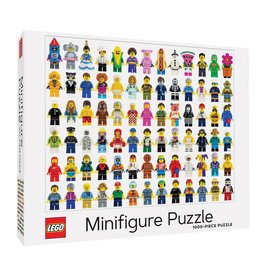 Chronicle Books LEGO Minifigure Puzzle