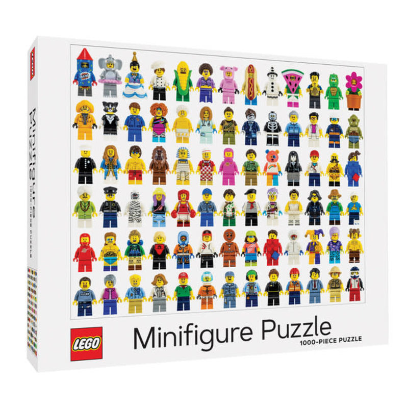 Chronicle Books LEGO Minifigure Puzzle