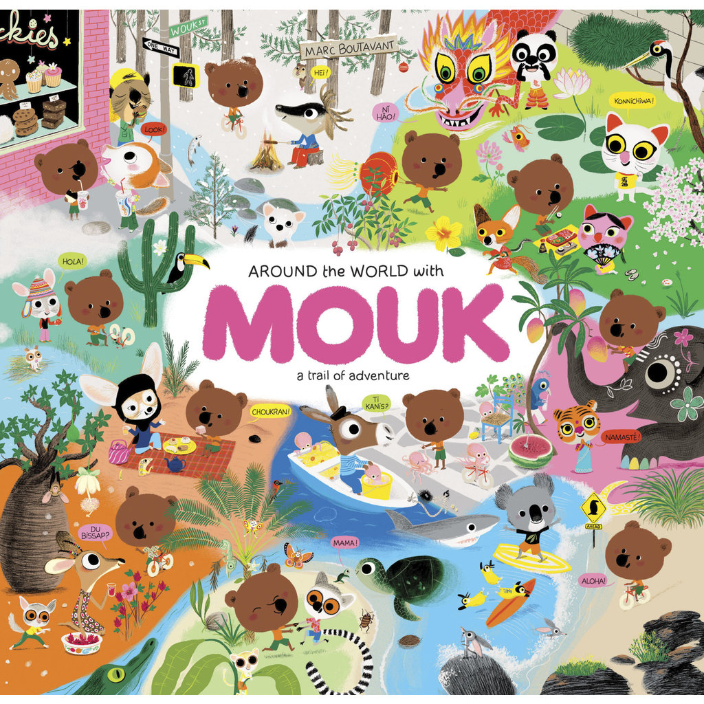 Chronicle Books Around the World with Mouk