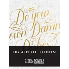Chronicle Books Bon, Appetit Bitches! Tea Towels
