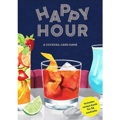 Laurence King Publishing Happy Hour : A Cocktail Card Game