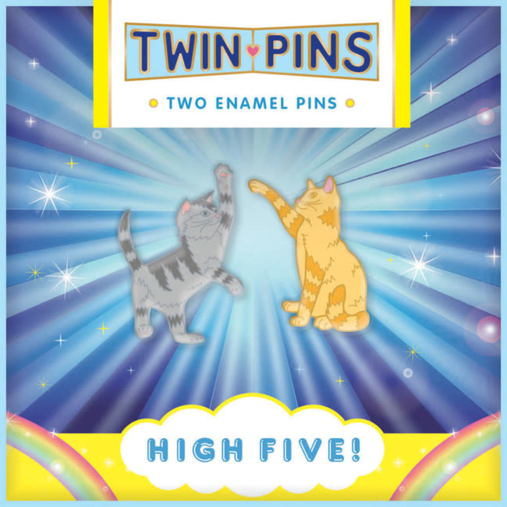 Chronicle Books High Five Twin Pins